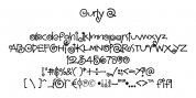 Curly Q font download