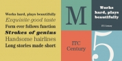 ITC Century font download