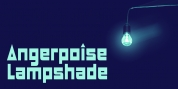 Angerpoise Lampshade font download