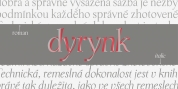 P22 Dyrynk font download