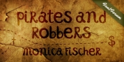 Pirates and Robbers font download