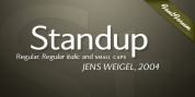 Standup font download