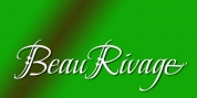 Beau Rivage font download