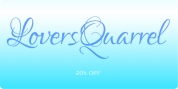 Lovers Quarrel font download