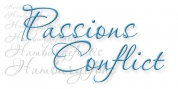 Passions Conflict font download