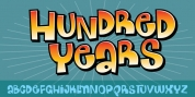 Hundred Years font download