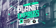 Planet Express font download