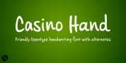 Casino Hand font download
