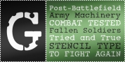 Combat Tested BTN font download