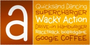 Wacky Action BTN font download
