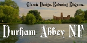 Durham Abbey NF font download