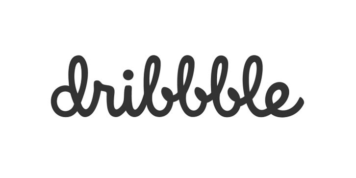 What Font Does Dribble Use For The Logo?