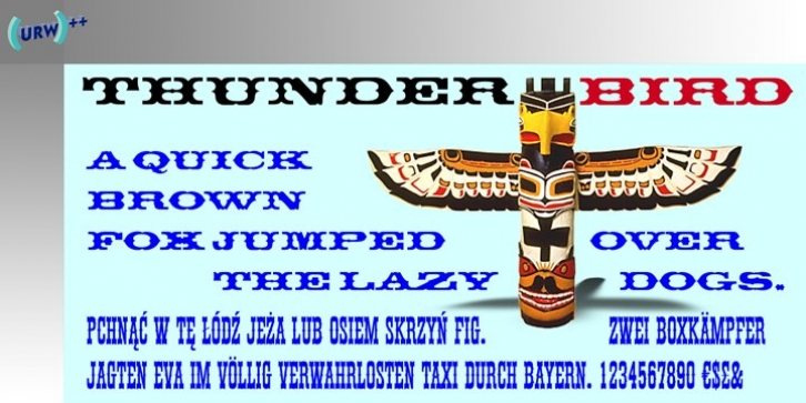 Thunderbird font preview