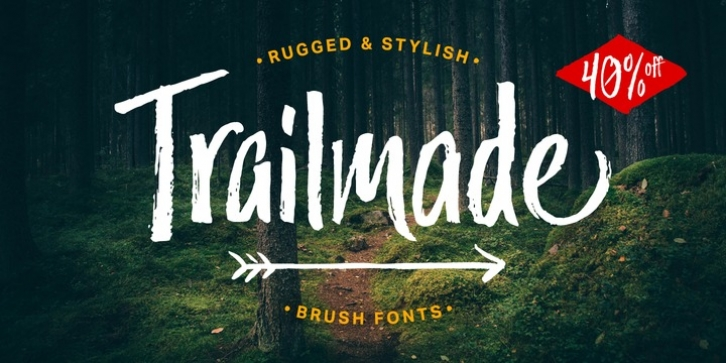 Trailmade font preview