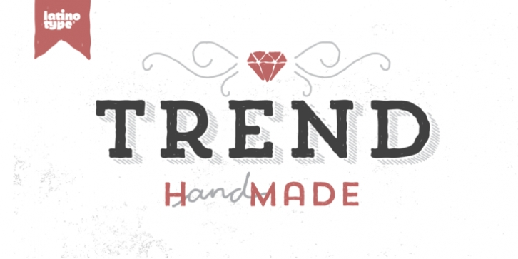 Trend Hand Made font preview