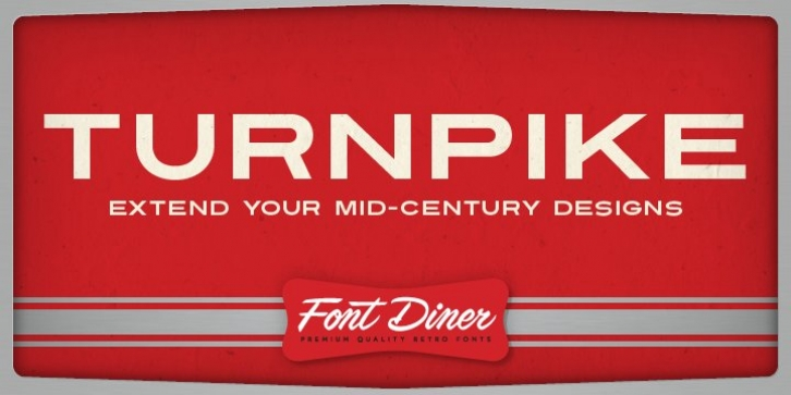 Turnpike font preview