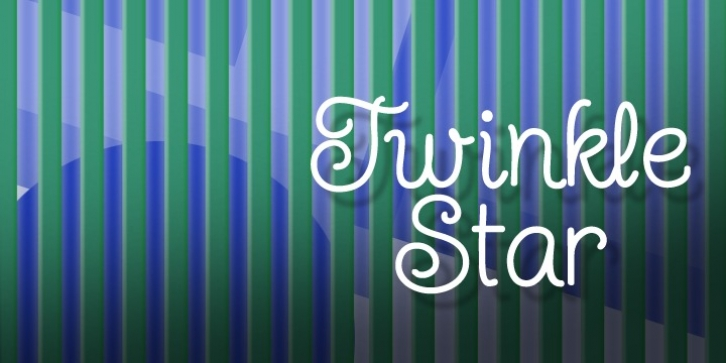 Twinkle Star font preview