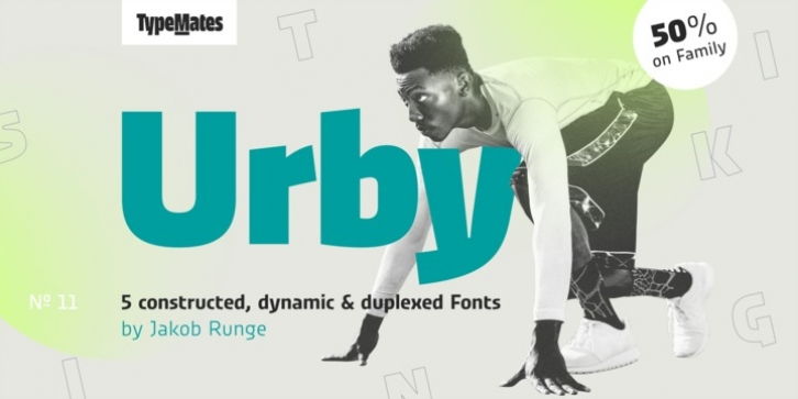 Urby font preview