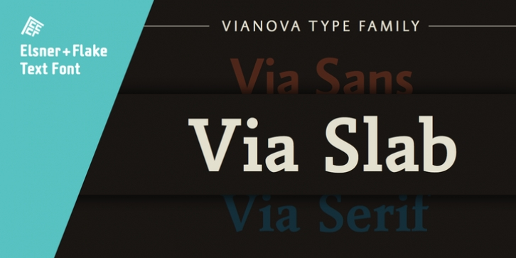 Vianova Slab Pro font preview