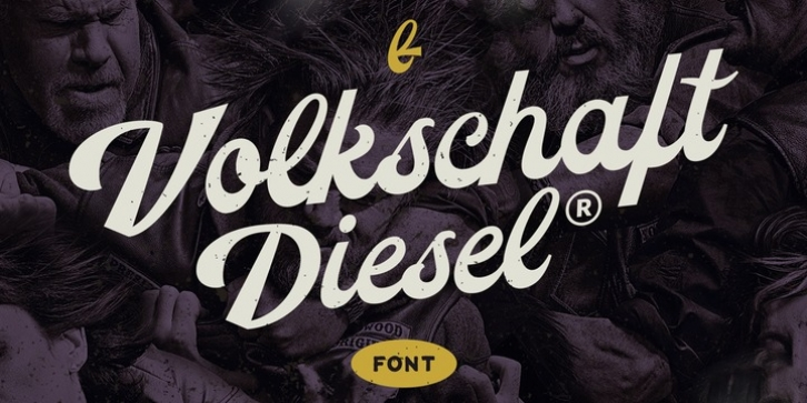 Volkschaft TF font preview
