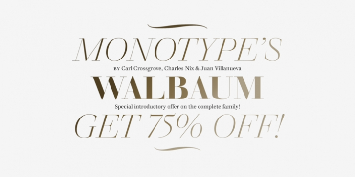 Walbaum font preview
