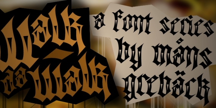 Walk Da Walk font preview