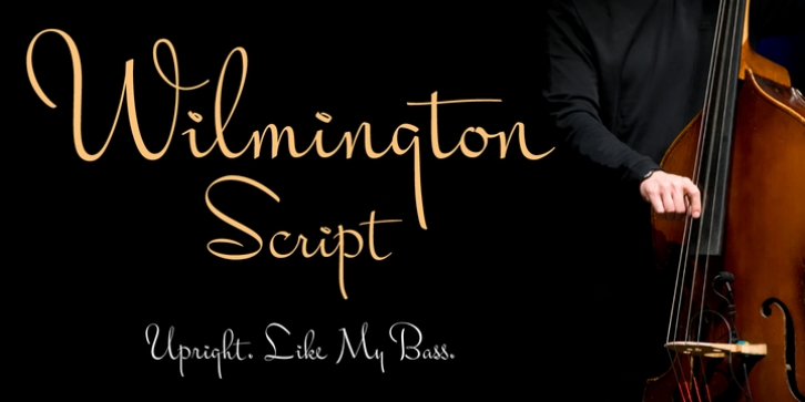 Wilmington BF font preview