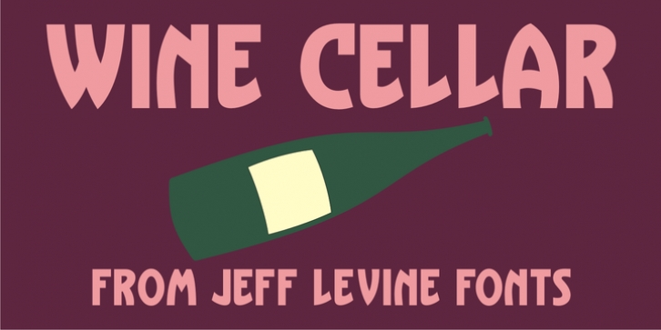 Wine Cellar JNL font preview